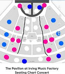 Irving Music Factory Seating Chart Pridesos Irving Pridesosirving Twitter