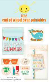 Summer Gift Tags Free Printable Happy Summer Gift Tags End Of School Year
