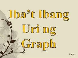 Ibat Ibang Uri Ng Graph