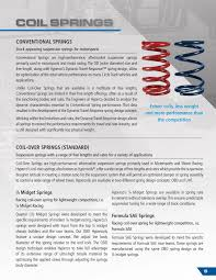 Hyperco Catalog Performance Suspension Springs Components