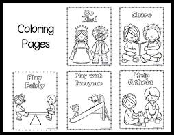 Small Picture Kindness Coloring Pages Free Printable For Kids For itgodme
