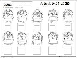 Turkey Math - Write Numbers to 20   November   Pinterest   Math ...
