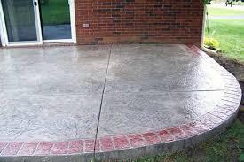 stamped concrete patios sidewalks