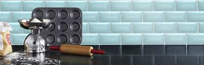 glass kitchen tiles