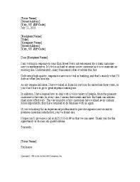 Resume Cover Letter For Customer Service Representative Best