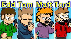 Oh a tom x edd ship?? Friday Night Funkin Eddsworld But Everyone Is Now Playable Tord Vs Tom Vs Edd Vs Matt Fnf Mod Youtube