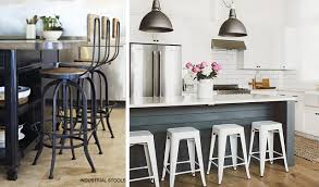 industrial kitchen island stools top best for your thecraftr stool with back wooden bar chairs backs swivel and arms short high breakfast upholstered