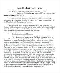 Confidentiality Agreement Samples Non Disclosure Confidentiality Agreement Free Template Nz