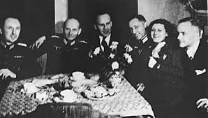 oskar schindler my hero schindler at a party nazi officials historyplace com