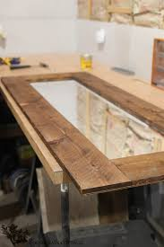 diy mirror frame. Contemporary Mirror DIY Framed Mirror Perfect Touch Of Farmhouse By The Wood Grain Cottage To Diy Mirror Frame