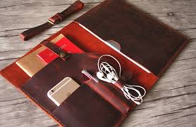 mens burdy leather doent portfolio