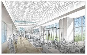architectural hand drawings.  Hand Promenade With Coffer Ceilingjpg Inside Architectural Hand Drawings E