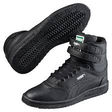 puma high tops womens. womens puma high tops shoes sky ii hi black 73604 764,sale puma,puma
