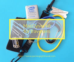 macgyver kit for travellers