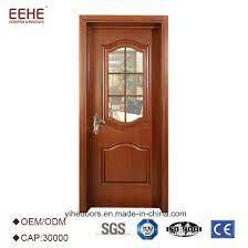 solid wood glass door interior design