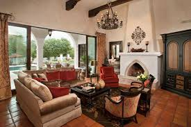 Spanish Style Living Room Decorating Ideas