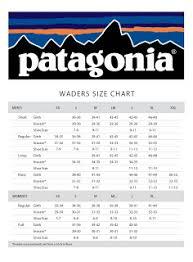 Rmp Rocky Mountain Patagonia Wader Sizing Chart