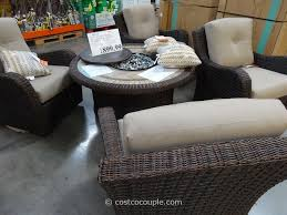 delivered costco patio furniture with fire pit agio international 5 piece fairview firechat set new house costco patio furniture sets h73
