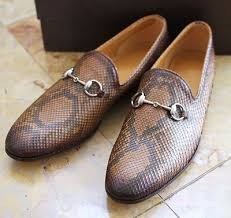 gucci dress shoes brown. gucci mens python horse-bit loafers $900 dress shoes brown f