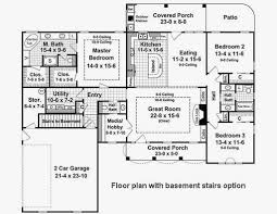 3 bedroom 2 5 bath open floor plan awesome country style house plan 3 beds 2 50