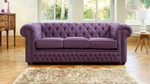 Furniture Two Cream Fabric Chesterfield Sofa With Round Side Fabric Chesterfield Sofas Uk