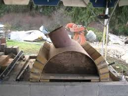 wood fired pizza oven outdoor fireplace