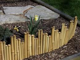 bamboo garden stakes. Simple Bamboo Garden Design Ideas With Fence Stakes