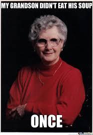 Suspicious And Mysterious Grandma by sandro123 - Meme Center via Relatably.com