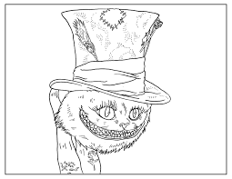 Small Picture Tim Burton Coloring Pages The Slightly Warped Website
