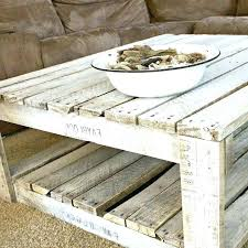 whitewashed round coffee table full mango wood whitewashe