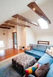 rafters living lighting. lighting beams rafters living