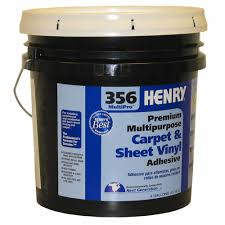 356 4 gal multi purpose sheet vinyl and carpet adhesive