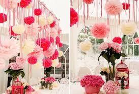 10pcs 20cm tissue paper flower pom poms wedding engagement party