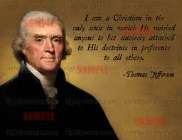 Thomas Jefferson Quotes Christianity Best of Thomas Jefferson Christian Quote Poster