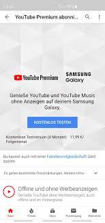 Samsung Galaxy S10 5G — Samsung Galaxy S10-Reihe bekommt YouTube ...