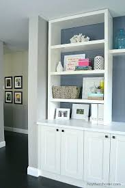 built in shelves how to create a out of cabinets and storage build wood closet billy bookcase 1