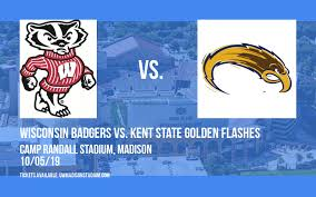 Wisconsin Badgers Vs Kent State Golden Flashes Tickets