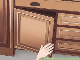 image titled install sliding shelves in kitchen cabinets step 11
