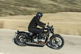 triumph bobber full review with videos superbike magazine