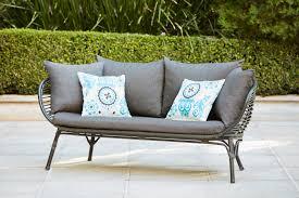 home outdoor chairs bunnings mimosa waiheke seater