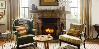 living room interior design with fireplace. Cozy Living Rooms, Winter Decorating Ideas Room Interior Design With Fireplace