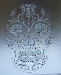 sugar skull calavera wall art by ironbark metal design