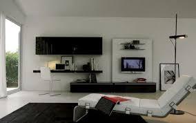 tv lounge furniture. Modern TV In Living Room Inspiring Ideas: Elegant Lounge Chair Black Desk White Acrylic Fur Rug ~ Jangrue.com Inspiration Tv Furniture S