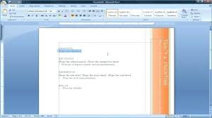 Cv Templates Microsoft Office Word How To Make A Resume On Fresh