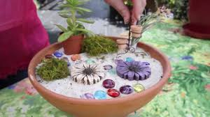How to Make a Fairy Garden YouTube