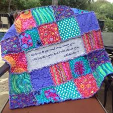 Best 25+ Rag quilt purple ideas on Pinterest | Baby rag quilts ... & MADE TO ORDER RAG QUILT Colorful little girls rag quilt in stunning shades  of purple, Adamdwight.com