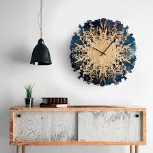view in gallery botanica wall clock