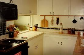 mid century modern kitchen after eighties re in 1997