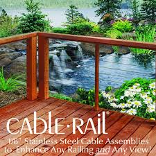 feeney reg cablerail reg stainless steel cable assembly