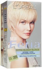 Bleach blonde hair dye